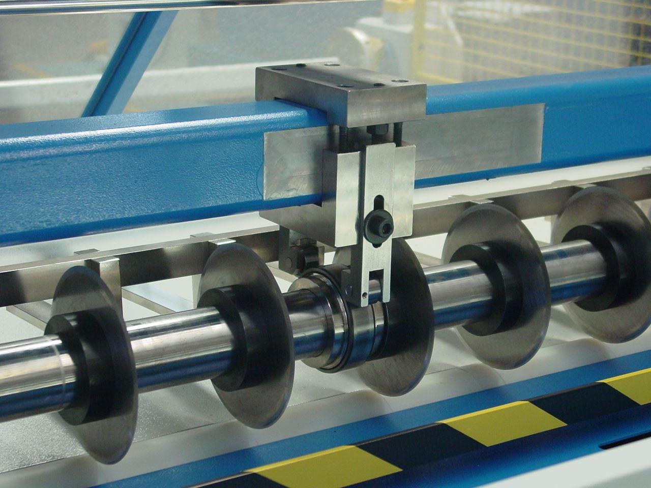 Model 593 Slitter Sheeter Manufacturers Supplies Co